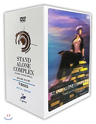공각기동대 TV판 SE Stand Alone Complex 한정판 (7Disc)
