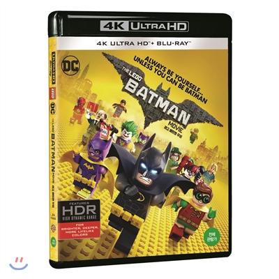 레고 배트맨 무비 (2Disc 4K UHD 한정수량) : 블루레이