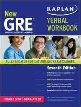 Kaplan New GRE Verbal Workbook, 7/E
