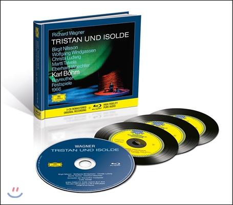 Birgit Nilsson / Karl Bohm 바그너: 트리스탄과 이졸데 - 비르기트 닐손, 바이로이트 페스티벌 오케스트라, 칼 뵘 (Wagner: Tristan und Isolde) [3CD+Blu-Ray Audio]