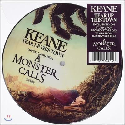 몬스터콜 영화음악 (Tear Up This Town From 'A Monster Calls' OST by Keane 킨) [픽쳐디스크 LP]