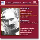 Arturo Toscanini 아르투로 토스카니니 - 바그너 / 브람스 (Wagner: Lohengrin, Gotterdammerung / Brahms: Haydn Variations)