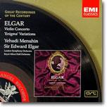 엘가 : 바이올린 협주곡ㆍ수수께끼 변주곡 - 예후디 메뉴인