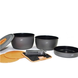 [ESBIT] 2500ml ���� ��ŷ��Ʈ, Non-Stick ����