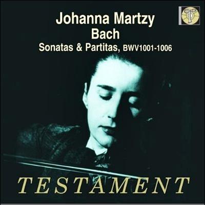 Johanna Martzy ë°í: 무ë°ì£¼ ë°ì´ì¬ë¦° ìëí & í르í°í (Bach : Violin Sonatas & Partitas BWV 1001-1006) ìíë ë§ë¥´ì¹