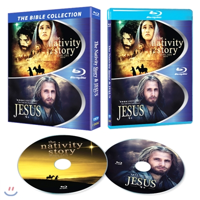 예수 & 네티비티 스토리 (더 바이블 합본팩, 2Disc) : 블루레이