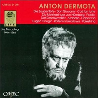 Anton Dermota 안톤 데르모타 오페라 아리아집 (Vienna State Opera Recordings 1944-81)