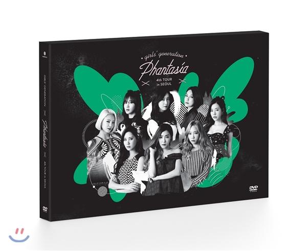 """소녀시대 - Girls' Generation 4th Tour """"Phantasia"""" In Seoul DVD"""