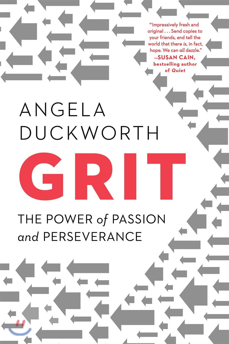 Grit : The Power of Passion & Perseverance