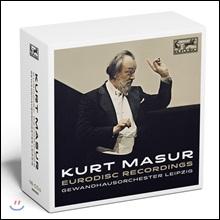 Kurt Masur 쿠르트 마주어 유로디스크 녹음집 (Eurodisc Recordings)