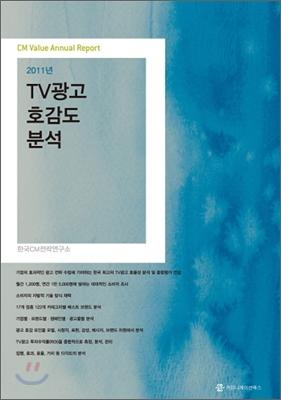 2011년 TV광고 호감도 분석