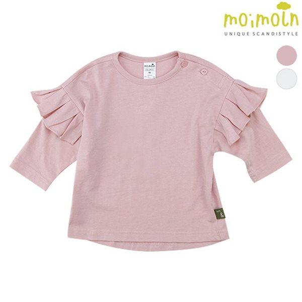 [모이몰른] 소프트&8부플리츠 티셔츠 [가을]