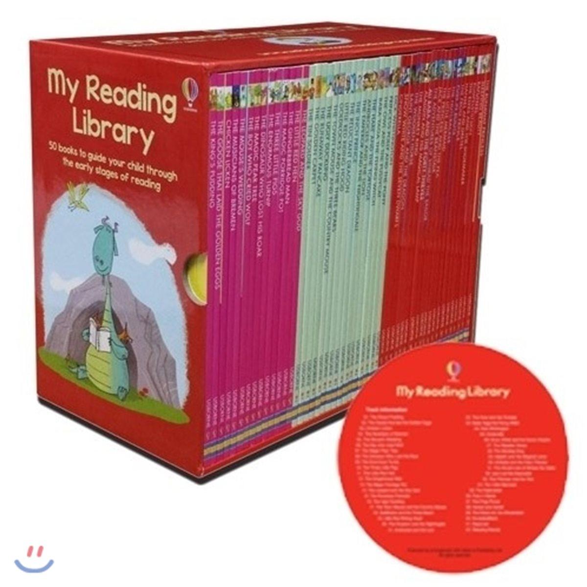 [쿠폰가 99,000원][어스본 리딩 2단계] Usborne My Reading Library 50권 세트 (Book & CD)
