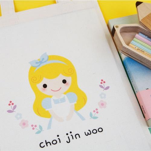 [주문제작]에코백미니애니멀_개구리