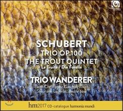 Trio Wanderer 슈베르트: 피아노 삼중주 트리오 Op.100, 피아노 오중주 '송어' - 트리오 반더러 (Schubert: Piano Trio, Trout Quintet [Die Forelle])