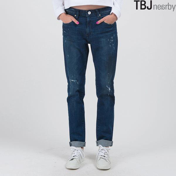 [TBJ]여성 보이프랜드핏 D톤 데님 DBL (T155DP821M)