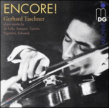 Gerhard Taschner 게르하르트 타슈너의 앙코르! - 파야 / 사라사테 / 타르티니 / 파가니니 외 (Encore! - Falla / Sarasate / Tartini / Paganini) [LP]