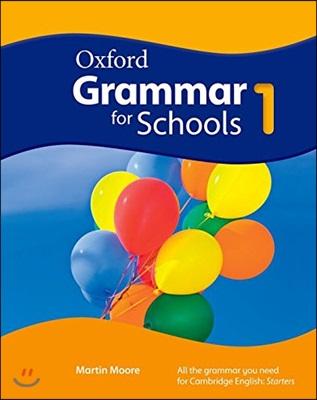 Oxford Grammar For Schools 1: Students Book & DVD