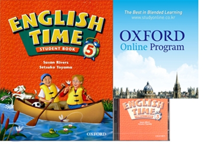 English Time 5 Set : Student Book + Oxford English Online + Audio CD