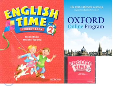 English Time 2 Set : Student Book + Oxford English Online + Audio CD