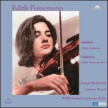 Edith Peinemann 시벨리우스 / 프로코피에프: 바이올린 협주곡 - 에디트 파이네만 (Sibelius / Prokofiev: Violin Concerto) [2 LP]