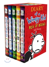 Diary of a Wimpy Kid #1-5 Box Set