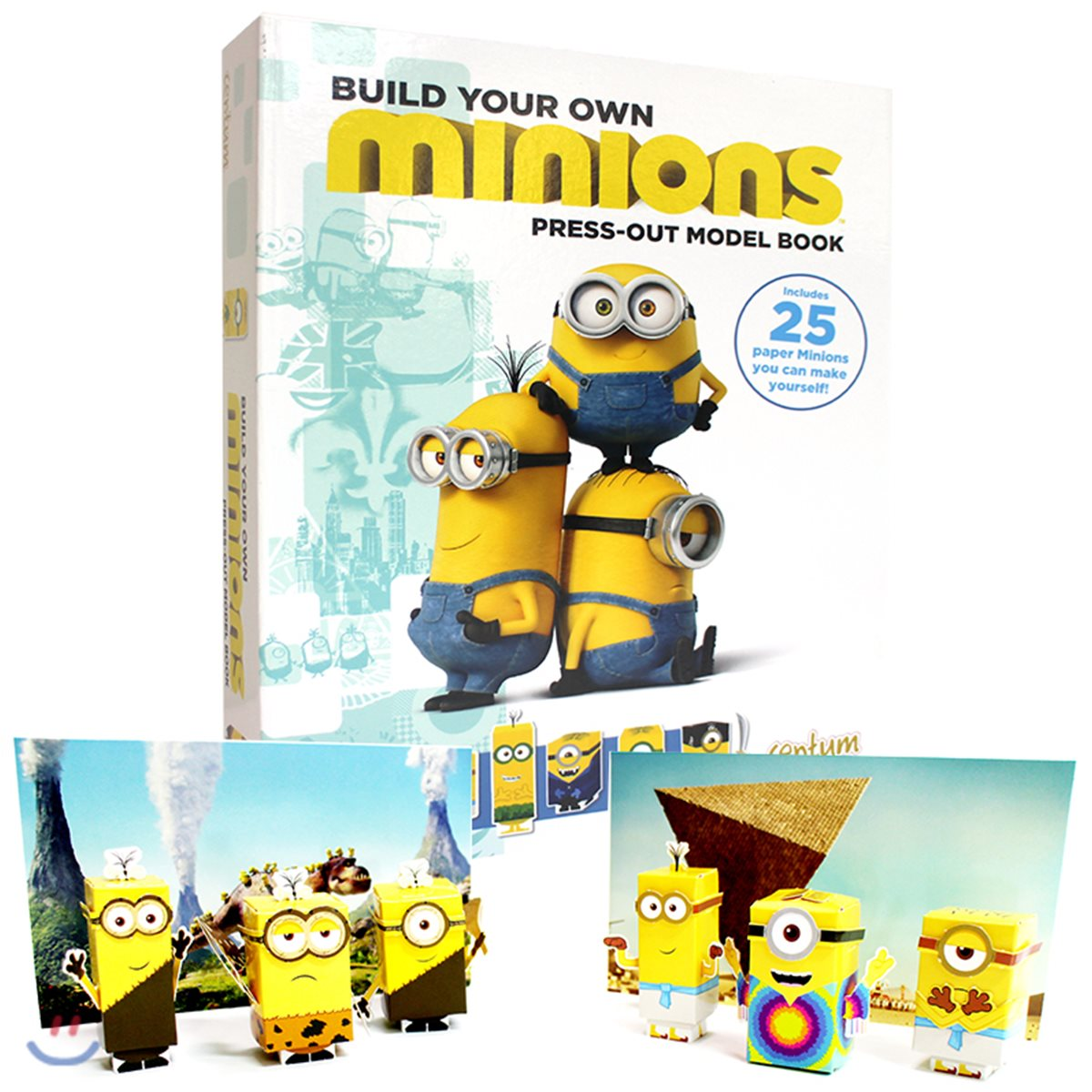 Build Your Own Minions Press-Out Model Book 미니언즈 페이퍼 토이 만들기 책