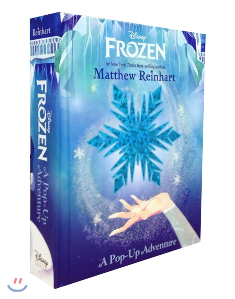 Frozen : A Pop-up Adventure 디즈니 겨울왕국 팝업북