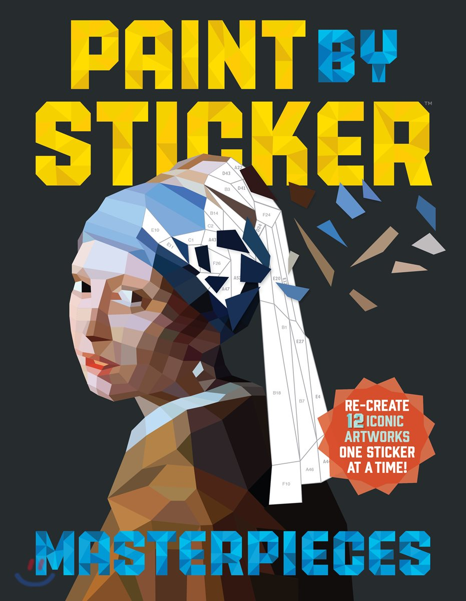 Paint by Sticker : Masterpieces