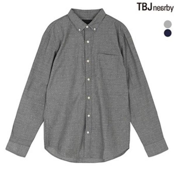 [TBJ]남성 옥스퍼드 도트 셔츠(T173SH012P)