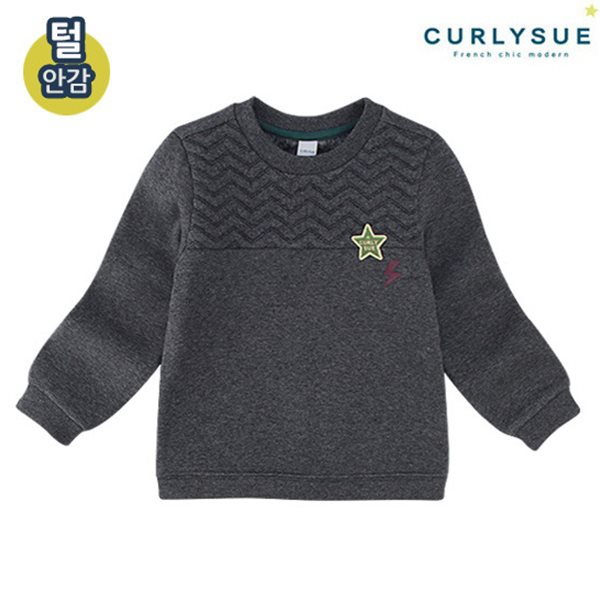 [컬리수] 번개스타 티셔츠 (털안감) CMW1XQTS53CM [겨울]