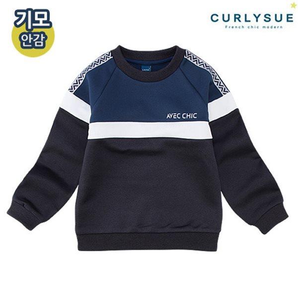 [컬리수] 럭키 쿠션지티셔츠(기모) CMW0XQTS81BL [겨울]