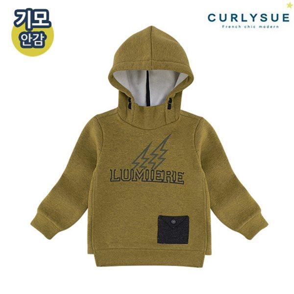 [컬리수] 번개포켓 후드티셔츠(기모) CMW1GQTS54OG [겨울]