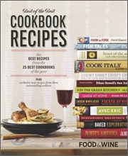 Food &amp; Wine Best of the Best Cookbook Recipes