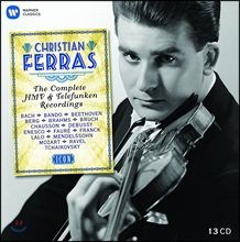 Christian Ferras 크리스티앙 페라스 워너 HMV & 텔레풍켄 녹음 전집 (ICON - The Complete HMV & Telefunken Recordings)