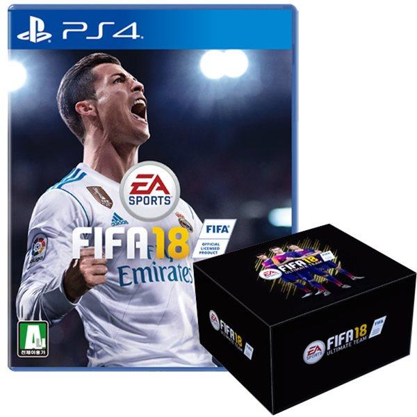PS4 피파18 팬박스 에디션 / FIFA18