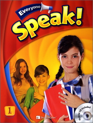 Everyone, Speak! 1 : Student Book + Workbook + Presentation Card + Hybrid CD
