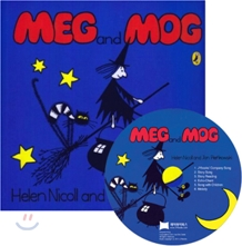 [��ο�]Meg and Mog (Paperback & CD Set)