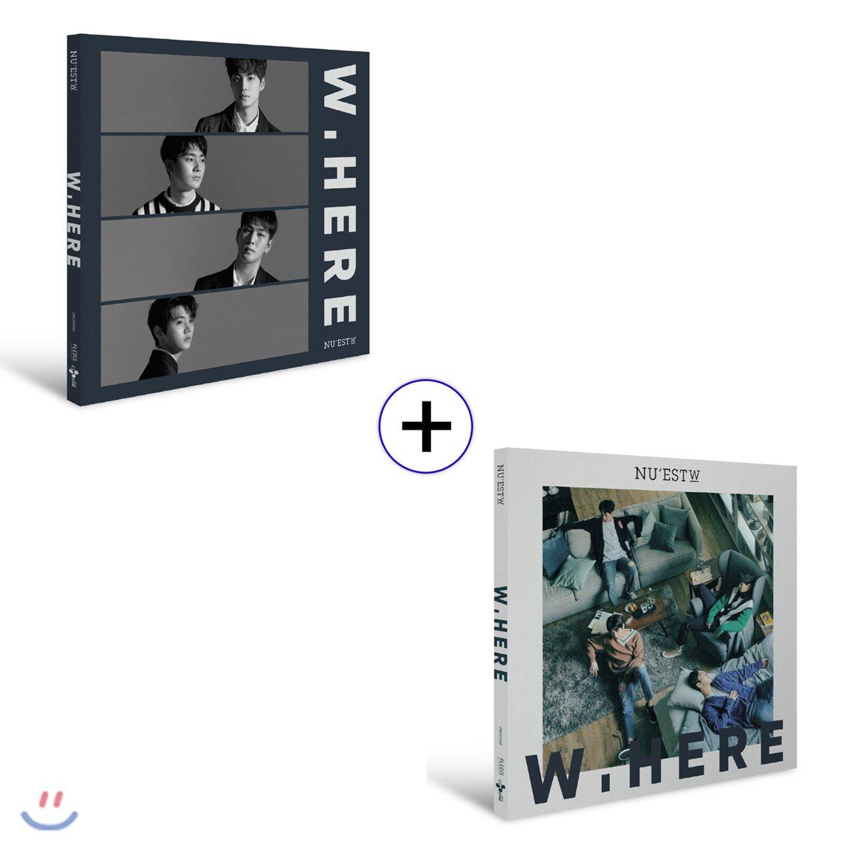 뉴이스트 W (NU`EST W) - W, Here [STILL LIFE + PORTRAIT ver.]