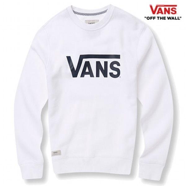 [반스] E 남성 베이직 프린팅 맨투맨 티셔츠 VN0A33VI_WHT