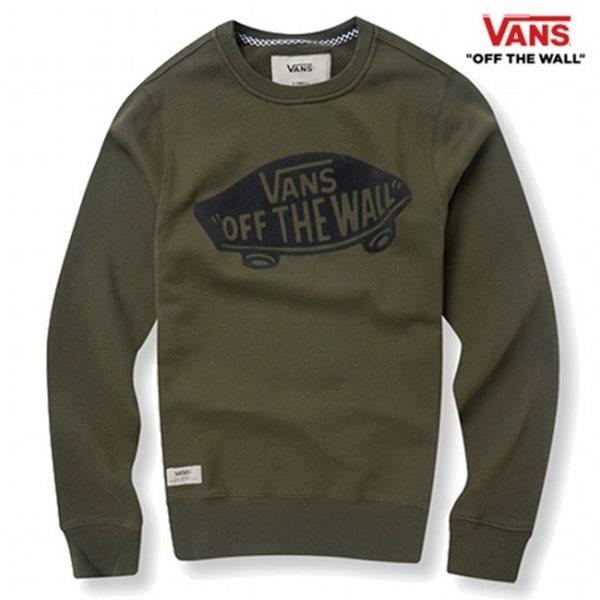 [반스] E 남성 베이직 시보리 컬러 맨투맨 티셔츠 VN0A33VM_IVG