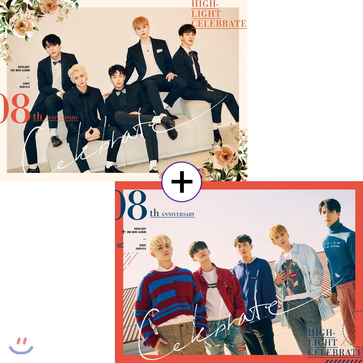 하이라이트 (Highlight) - 미니앨범 2집 : Celebrate [A+B/2종 SET]