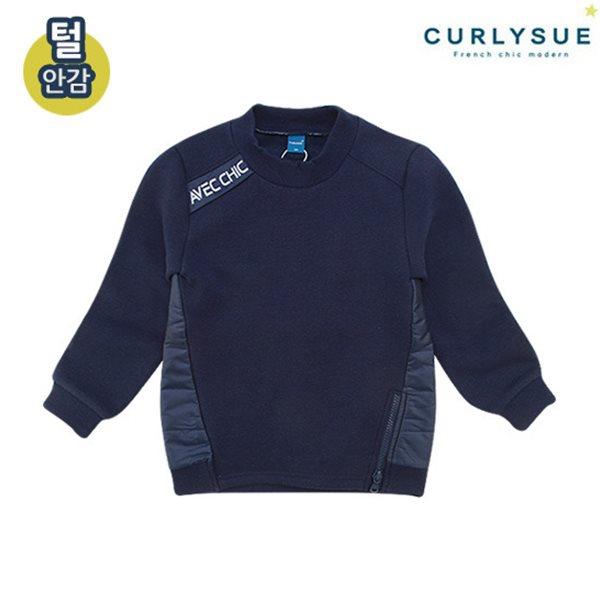 [컬리수] 패딩배색 티셔츠(털안감) CMW1GQTS81NA [겨울]
