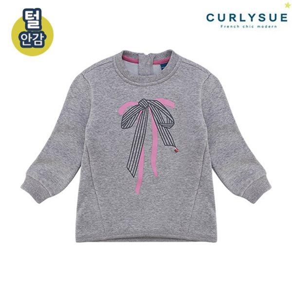 [컬리수] 리본나염 롱티셔츠(털안감) CMW1XATS031M [겨울]