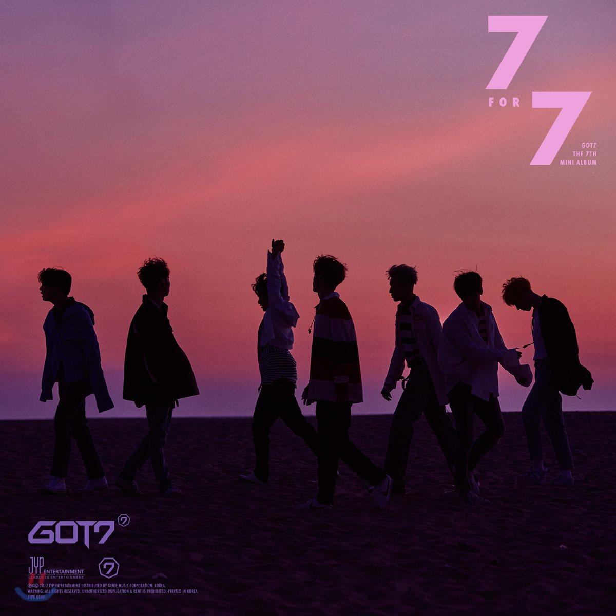 갓세븐 (GOT7) - 미니앨범 7집 : 7 for 7