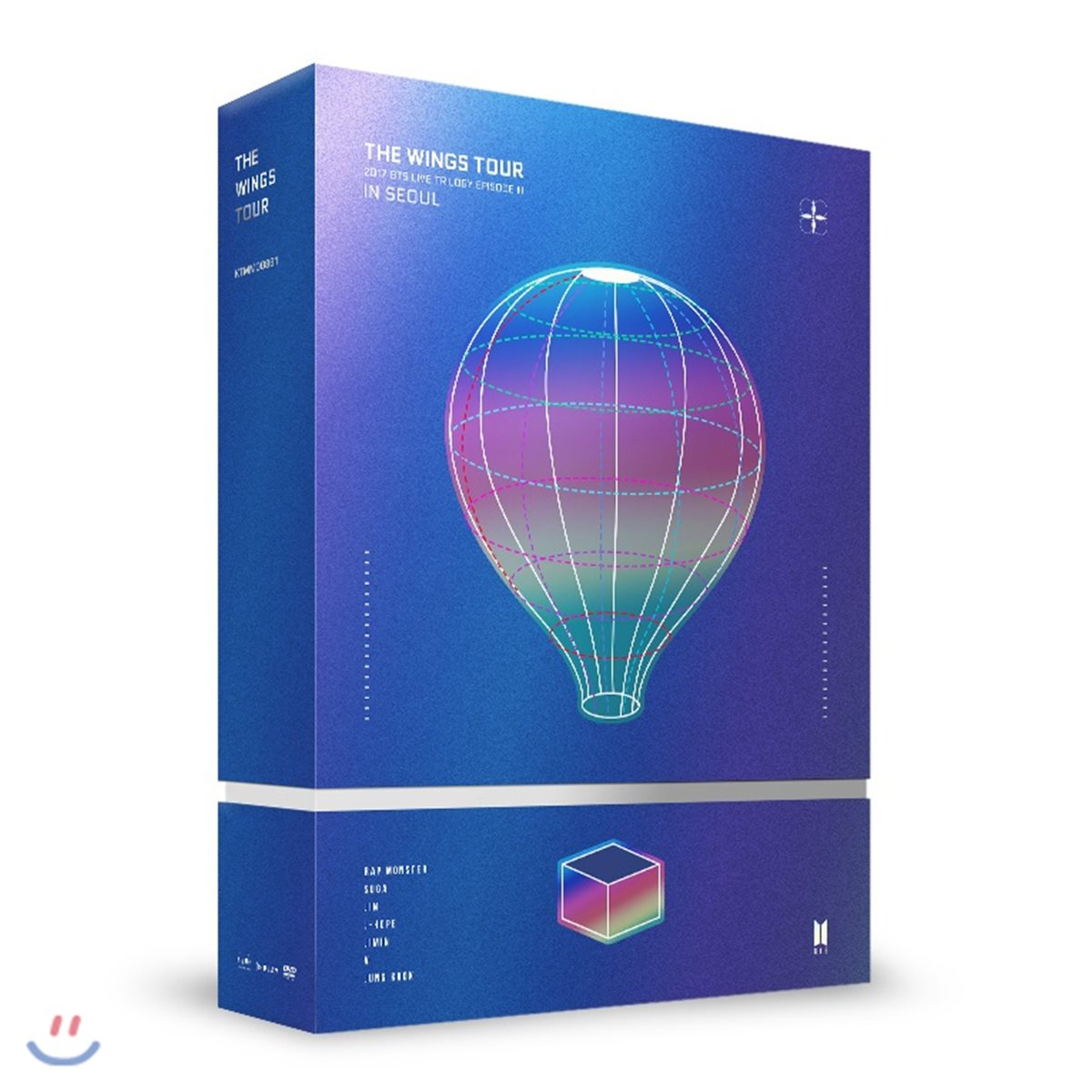 방탄소년단 (BTS) - 2017 BTS Live Trilogy EpiSode III The Wings Tour in Seoul Concert  DVD