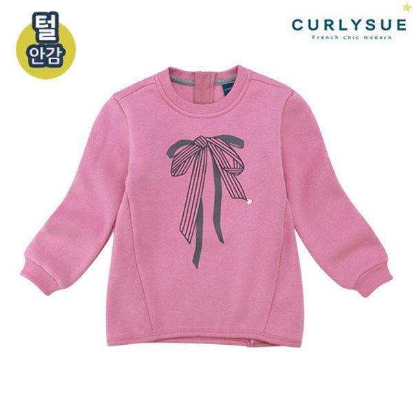[컬리수] 리본나염 롱티셔츠(털안감) CMW1XATS03PI [겨울]