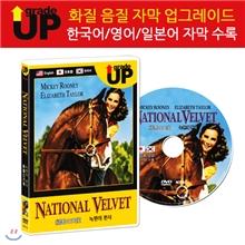 업그레이드 명작영화 : 녹원의 천사 /園の天使 / National Velvet DVD (한글/영어/일어 자막 수록)