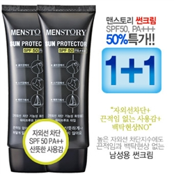 [MENSTORY]   1+1+  SPF50/PA+++NO/NO