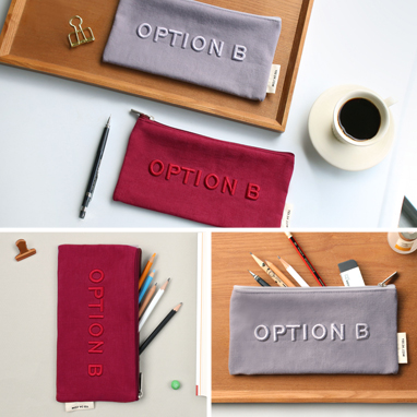 『OPTION B』 파우치